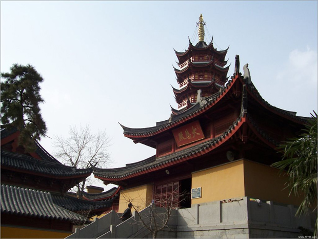 Jiming Temple Buildings