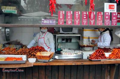 Chengdu Foods at Jinli Old Street