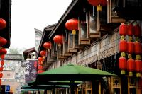 Old Buildings in Jinli Street Chengdu
