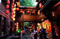 Jinli Street with Red Lanterns