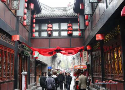 Walk Jinli Old Street