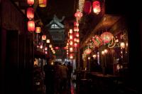 Jinli Old Street Night Scenery