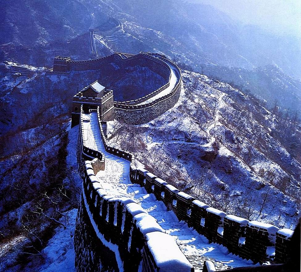 Jinshanling Great Wall in Winter