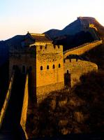 Jinshanling Great Wall Under the Setting Sun