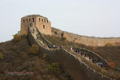 Gubeikou Jinshanling Great Wall Hiking Picture