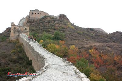 Panorama View of Jingshanling Great Wall