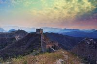 Gorgeous Moment in Jinshanling Great Wall