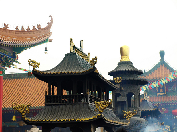Jintai Buddhist Temple Incense Burner