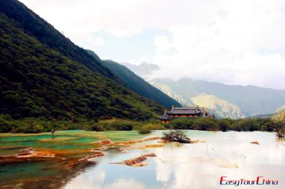 Huanglong Travertine Pools