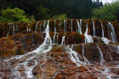 Zhaga Waterfall in Huanglong Reserve