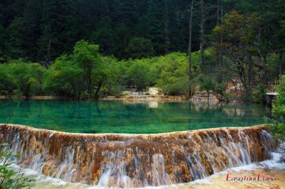 Lakes at Huanglong Scenic Valley