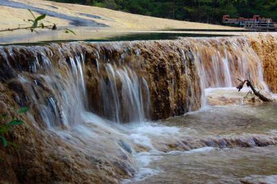 Waterfall at Huanglong
