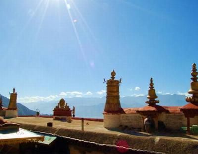 Jokhang Temple Rooftop