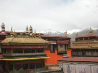 Jokhang Temple Gilt Roof