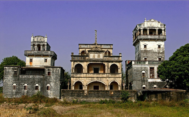 Well-preserved Kaiping Diaolou and Villages