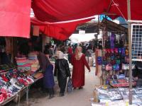 Kashgar Bazaar Shopping
