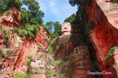 Leshan Giant Buddha Photos, Chengdu tour