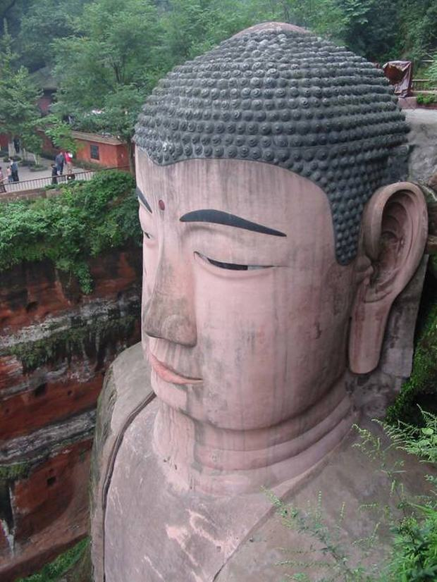 Leshan Giant Buddha Head