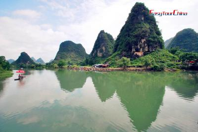 Li River and Bamboo Rafting