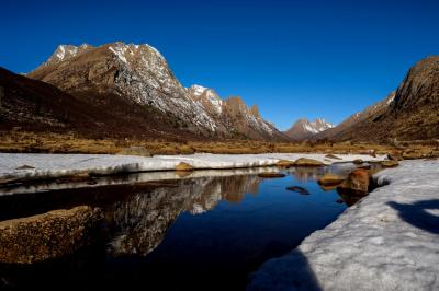 Lianbaoyeze Mountain Ranges & Lakes Picture