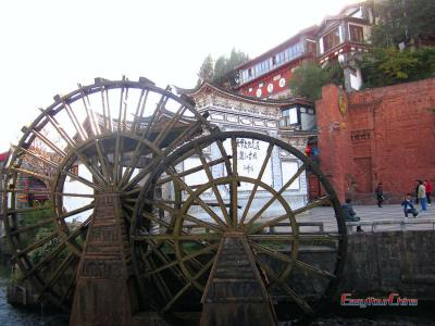 Waterwheel of Lijiang Ancient Town