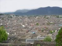 Lijiang Ancient Town Panorama