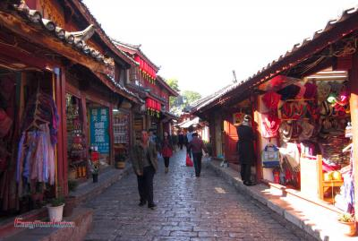 Ancient Street of Lijiang Old Town