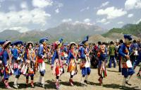 Lisu People Dancing