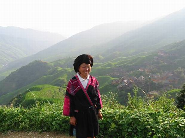 Longji Rice Terraces Yao Woman