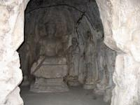 A Part of Longmen Grottoes
