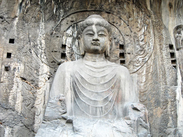 A Closer Look at Huge Buddha Statue