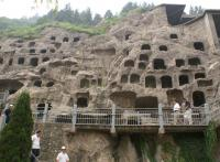 The Panorama of Longmen Grottoes