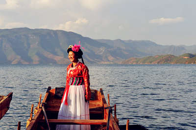 Lugu Lake Boating