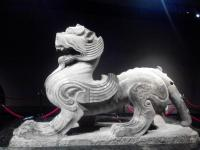 Luoyang Museum stone statue