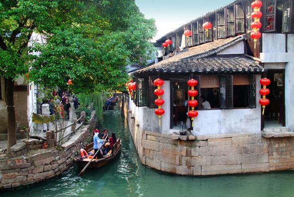 Luzhi Ancient Town Boating Trip