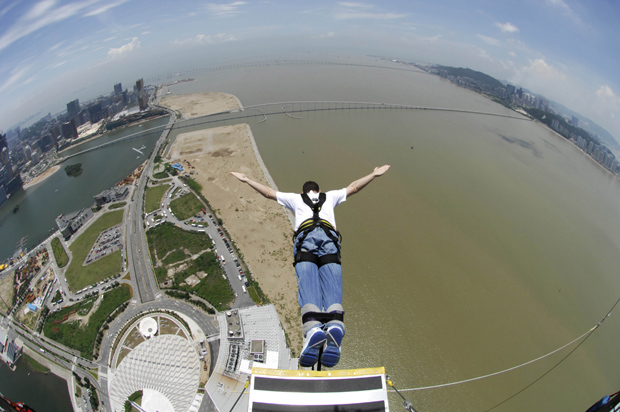 Image result for kyjump in Macau Tower