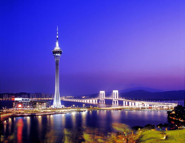 Macau Tower Night Light