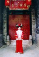 Travel Photos of Man Minority Ancient Princess Dress