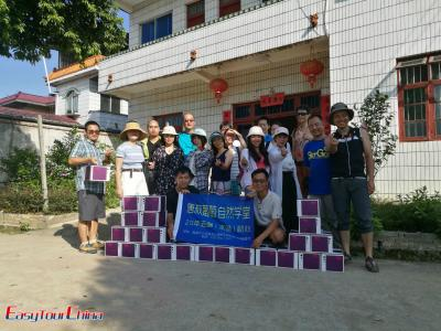Easy Tour China Team's 2-day Summer Trip to Mao'er Mountain