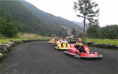 Go Kart Racing in Mao'er Mountain Natural Reserve