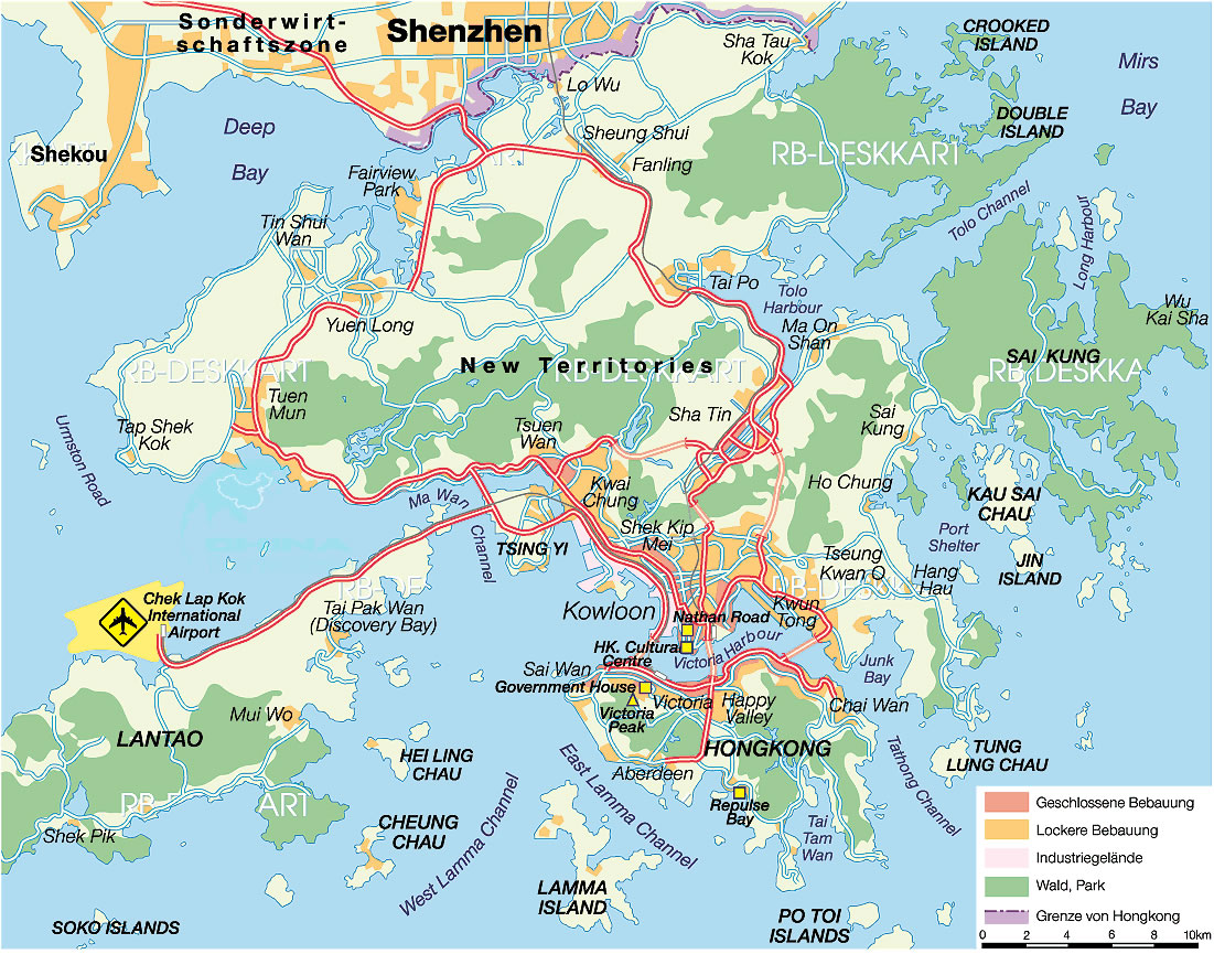 Hong Kong Location Map map of Hong Kong Hong Kong tour tours in