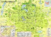 Travel Map of Kaifeng city