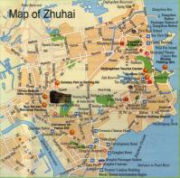 Detailed Zhuhai maps