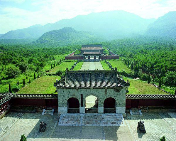 Mausoleums of Jingjiang Princes Vertical View