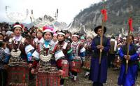 Miao people on festival