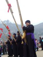 Miao Men Playing Lusheng