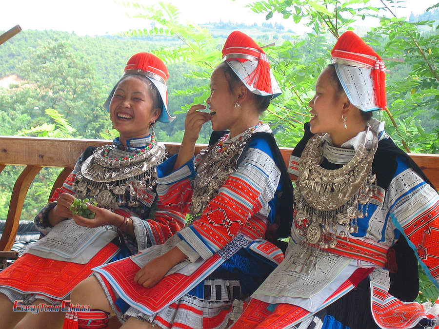 Ethnic Gejia people in Guizhou