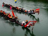 Boat Racing on Festival
