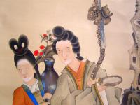 Ming Dynasty Girls' Painting