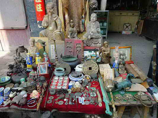 Selling Souvenirs On Ming Qing Street Travel Photos Of